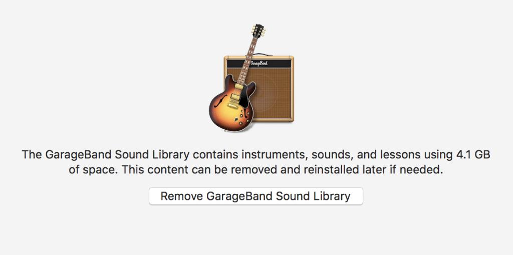 remove garageband