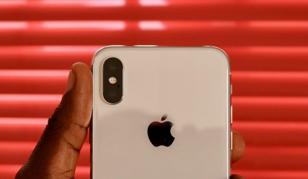 iPhone X dual camera