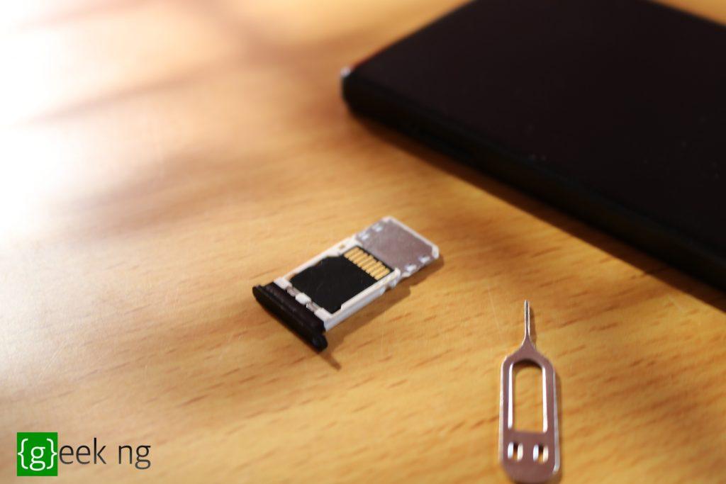 Vkworld Mix Plus microSD card slot