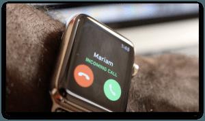 iphone calls on apple watch