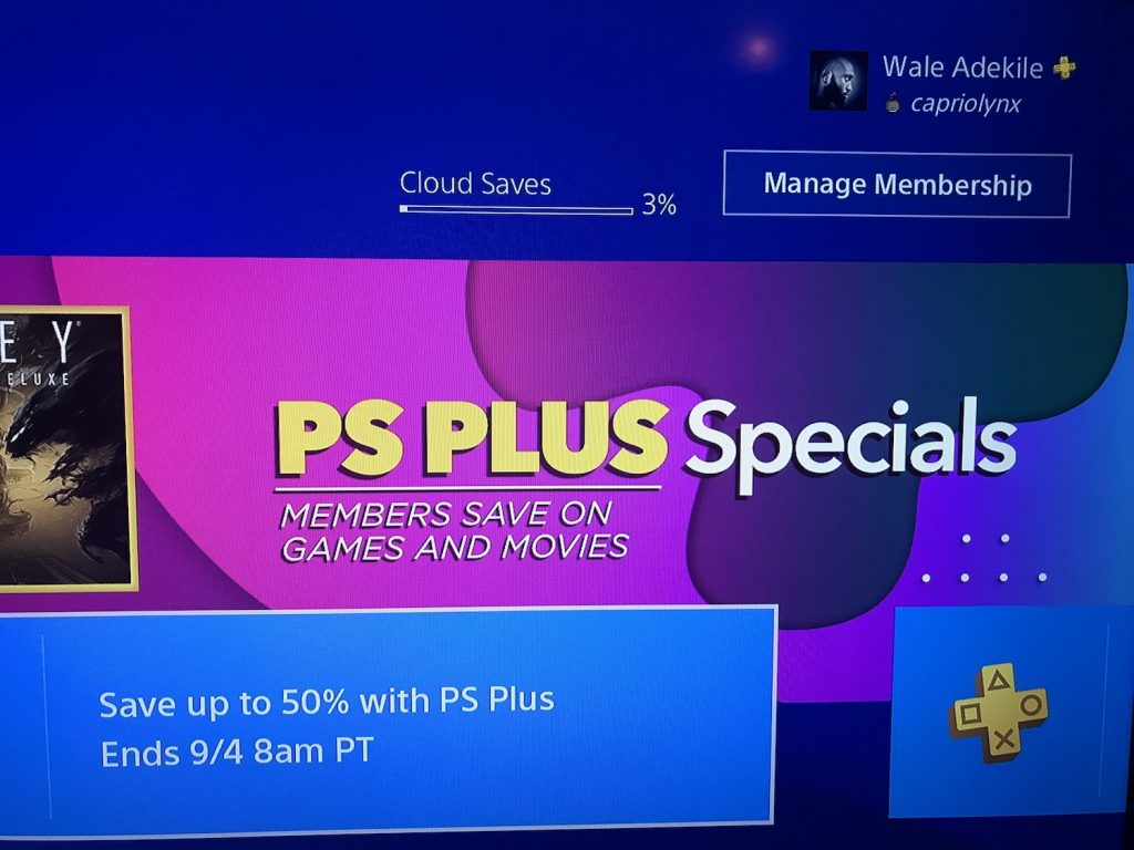discounts on playstation plus