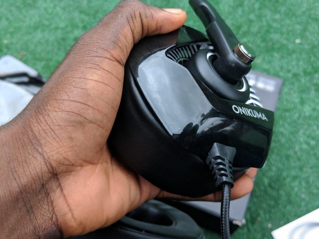 Onikuma K6 Gaming Headset Gaming Lights