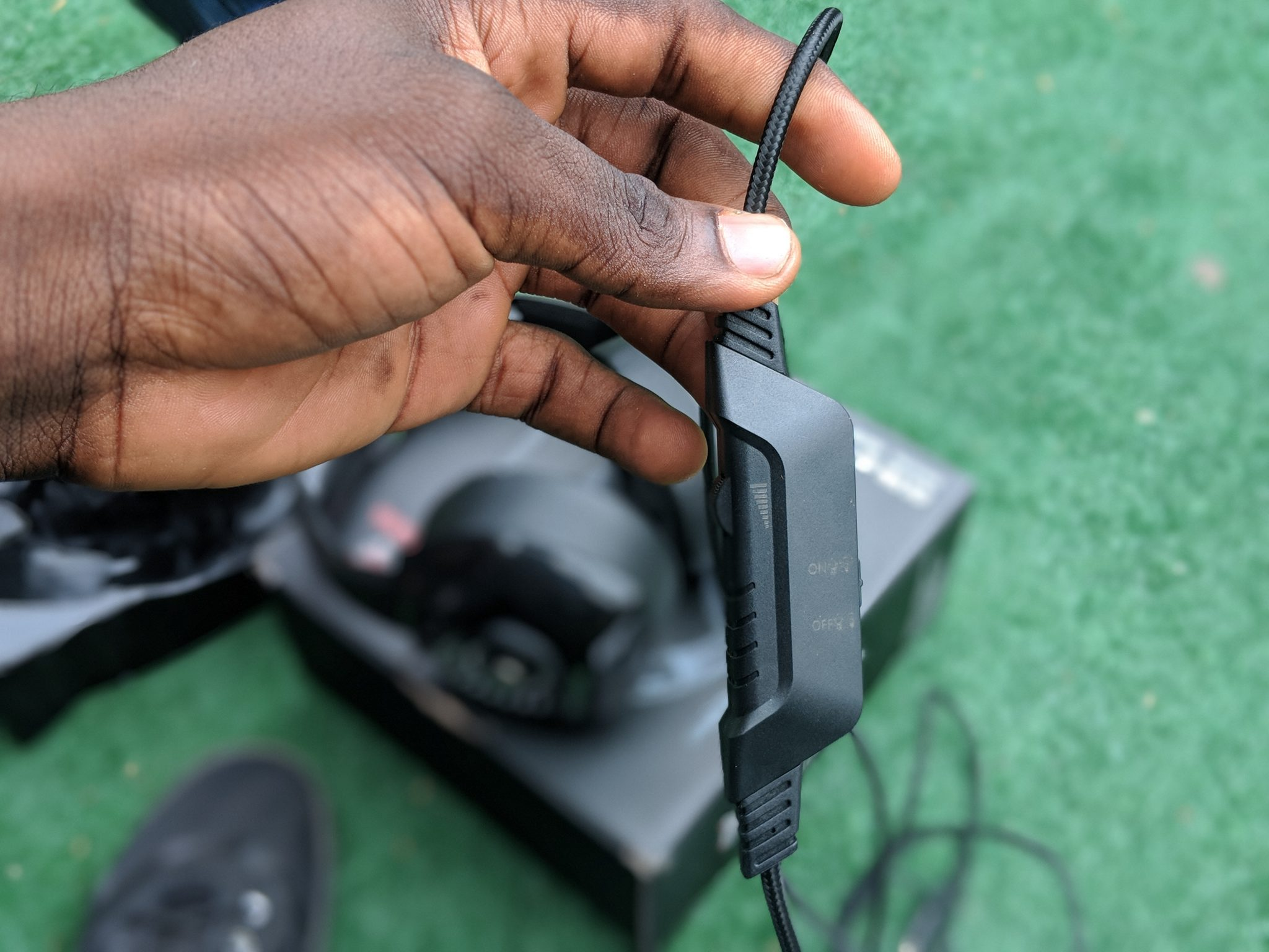 Onikuma K6 Gaming Headset Inline Controls