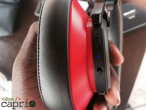 Bluedio T6 Power On