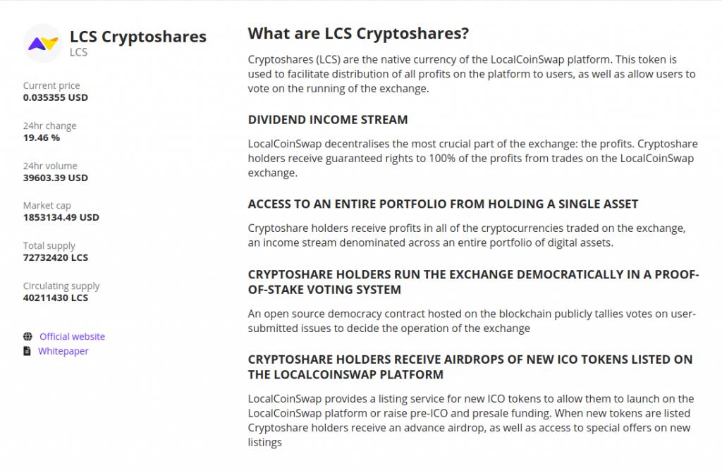 LCS Cryptoshare