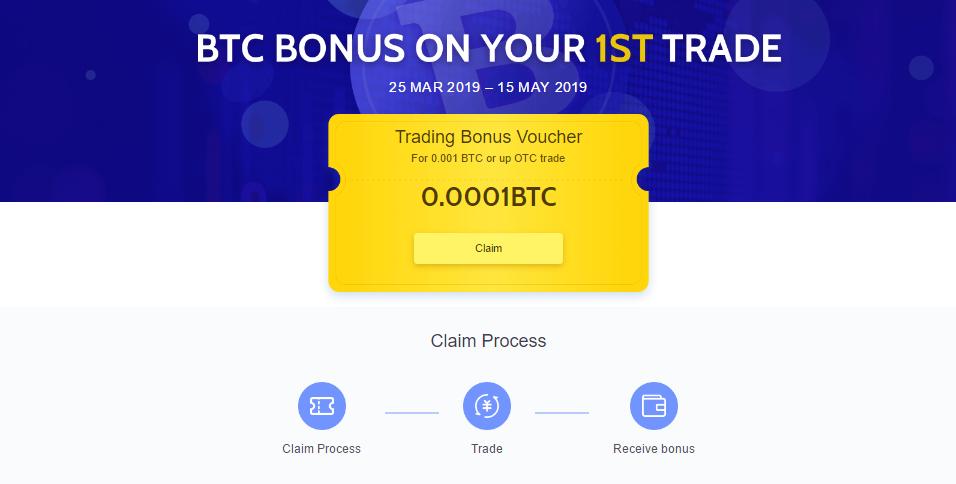 Coincola BTC Bonus