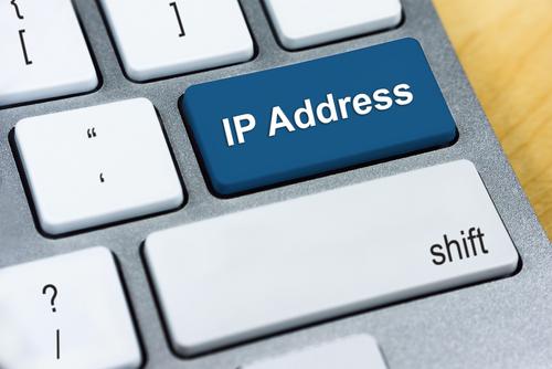 ip address on keyboard